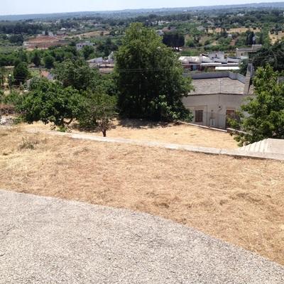 Muretto a secco come ringhiera terrazzo - Cisternino (Brindisi ...