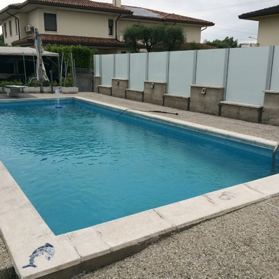 Cambio telo in pvc per piscina interrata castelfranco veneto treviso habitissimo - Saldatura telo pvc piscina ...