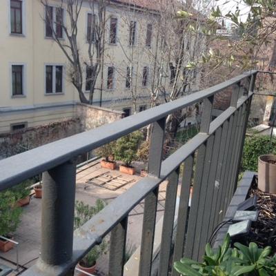 Richiesta fabbro per alzare attuale ringhiera terrazzo - Carrobbio ...