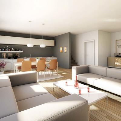 Costruzione di casa unifamigliare con fondamenta e garage sotterraneo o belluno antole - Prezzo costruzione casa ...