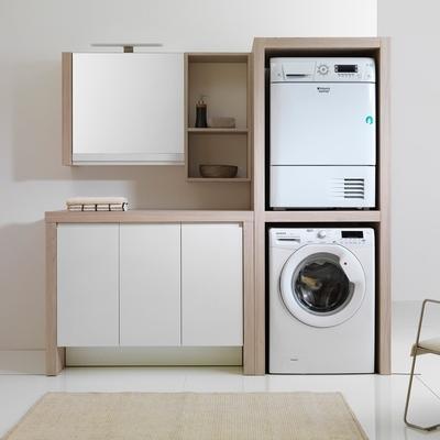 Mobile lavatrice asciugatrice a colonna subiaco roma habitissimo - Mobile per lavatrice e asciugatrice ...
