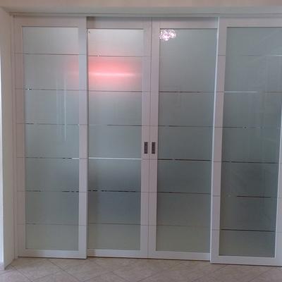 Porte scorrevoli 4 ante caravita napoli habitissimo for Porte scorrevoli in vetro napoli