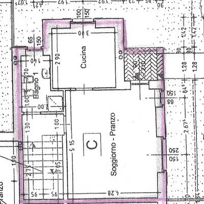 Presentazione pratica edilizia e variazione catastale for Creatore piano terra online