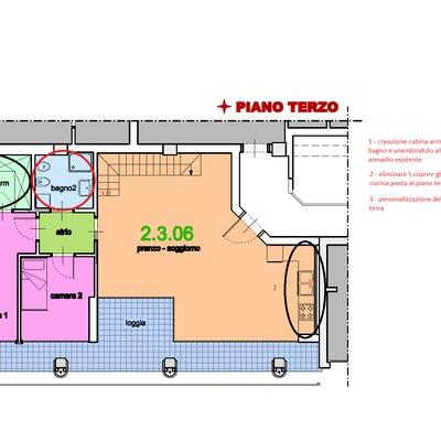 Modifiche nuova abitazione brescia brescia habitissimo for Creatore piano terra online