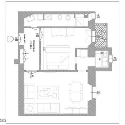 Ristrutturazione di un appartamento di 45 mq milano for Progetto ristrutturazione appartamento