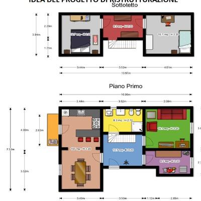 Ristrutturazione casa e sottotetto abitabile firenze - Progetto ristrutturazione casa gratis ...