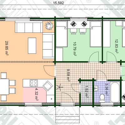 Costruire casa prefabbricata legno agnana calabra for Progetto costruzione casa