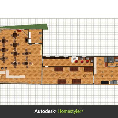 Costruire bar prefabbricato a due piani in legno pratola for Piani di casa con il costo per costruire gratuitamente