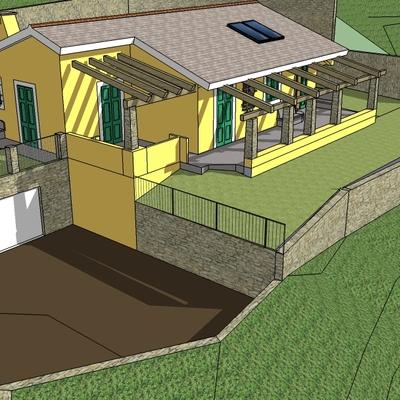 Costruzione casa progetto gi esistente che per va modificato celle ligure savona - Prezzo costruzione casa ...