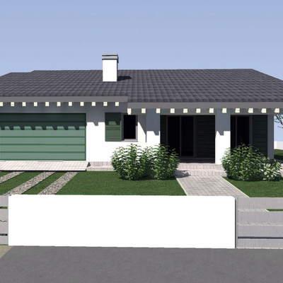 Costruire villetta singola piano terra bastardo perugia for Progetto casa moderna nuova costruzione