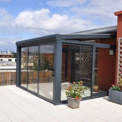 Veranda in alluminio e vetro caldogno vicenza - Prezzi verande per terrazzi ...