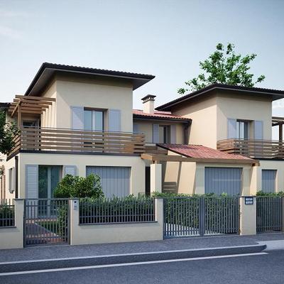 Progetto e costruzione villetta unifamiliare classe a for Villetta moderna progetto