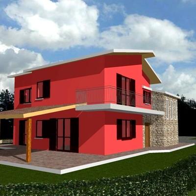 Copertura scala esterna e realizzazione porticato in legno altavilla irpina avellino - Copertura scala esterna ...