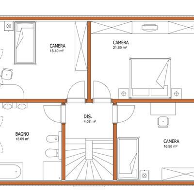 Costruzione di casa unifamigliare con fondamenta e garage for 3 piani di garage per auto con stanza bonus