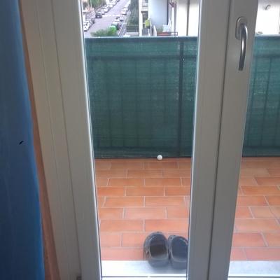 Montare gattaiola sulla porta finestra borgo roma - Montare una finestra ...