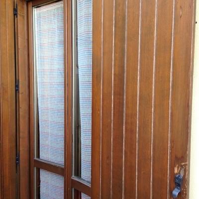Installare zanzariere scorrevoli a 2 finestre ed una porta - Larghezza porta finestra ...