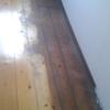 Lucidatura porzione stanza parquet