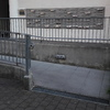 Piastrellatura muretto esterno lungo scivolo disabili ingresso condominio