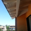 Tenda da sole per balcone con travi