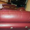 Rivestimento di un divano a tre posti