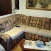 Rifoderare tutto il divano angolare di cm 227x cm 190 composto da tre pezzi  con relativo schienale e 4 cuscini seduta