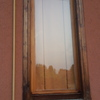 Riparazione parte esterna finestra in legno