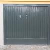 Fornitura e sostituzione porta basculante in acciaio zincato