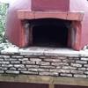 Ricostruzione forno da giardino
