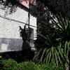 Pulizia e pittura facciata 110mq appartmaneto piano terra