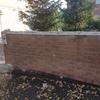 Demolizioe e ripristino muro di cinta