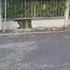 Ripristino tratto recinzione esterna