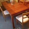 Eliminazione aloni tavolo esposto al sole
