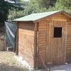 Demolizione casetta di legno