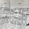 Piano cottura cucina angolare
