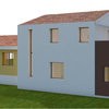 Costruzione nuova casa 150 mq in aderenza ad edificio esistente