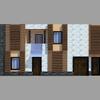 Ristrutturazione prospetto principale residenza unifamilaire
