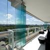 Chiusura balcone con vetrata