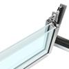 Realizzare vetrata con due porte