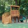 Casetta gioco per bambini in giardino