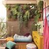 Piccolo giardino verticale per terrazzino