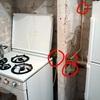 Modifica impianto gas cucina, sostituzione della braga dello scarico acqua cucina, predisposizione e collegamento lavastoviglie