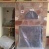 Marmo camino a elle parte superiore non da incassare solo da appoggiare marmo inferiore rettengolare