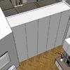 Armadio raso muro soggiorno