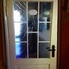 Riparazione vetro porta interna