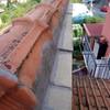 Riparare infiltrazione dal colmo in tegole del tetto