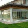 Veranda con vetrate