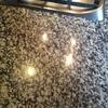 Piano in granito grigio perla