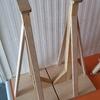 Appoggi allenamento in legno