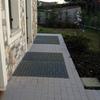 Sostituzione Grate Metalliche con Vetro Calpestabile (esterno)