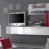 Mobile base tv laccato bianco